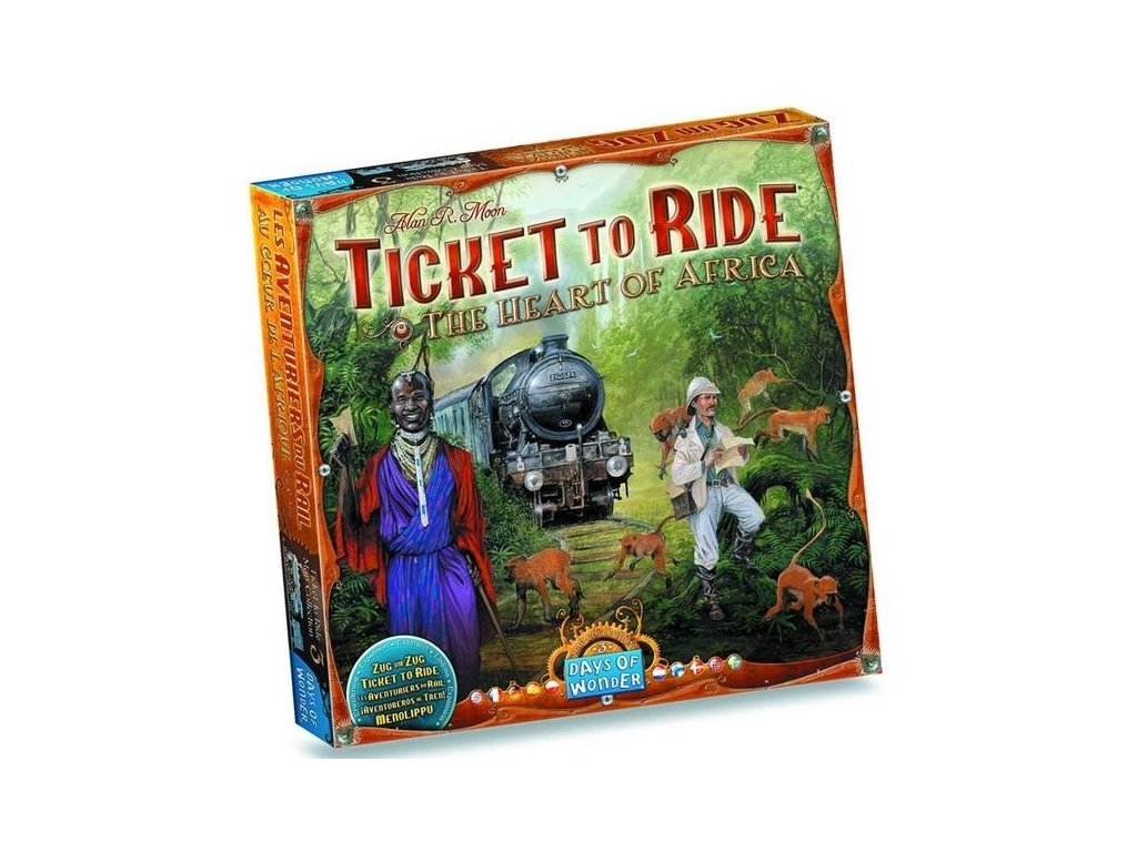 Ticket to Ride - Map Collection - Srdce Afriky
