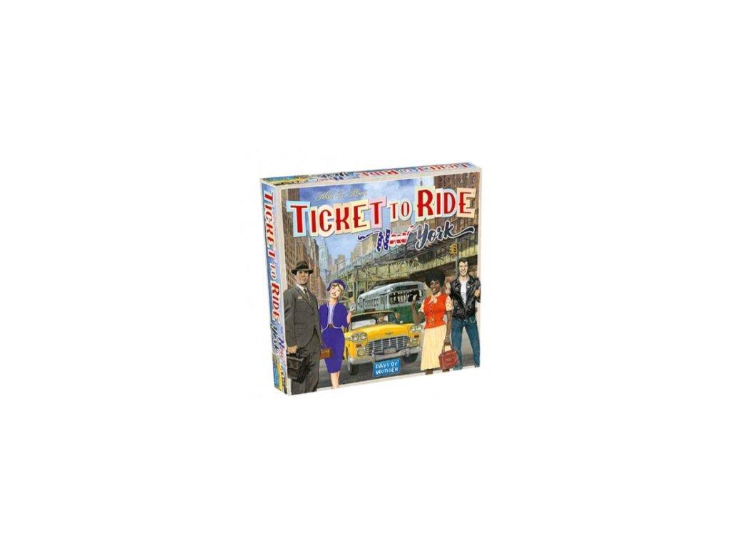 Ticket to Ride Express - New York City 1960 - EN