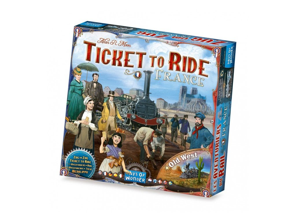 Ticket to Ride - Map Collection 6: France & Old West