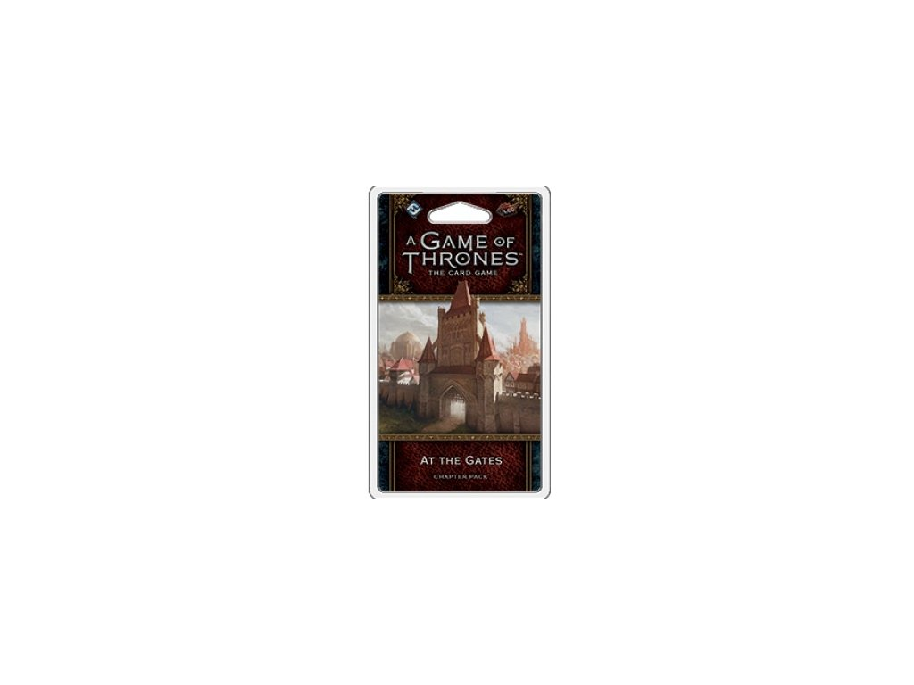 FFG - A Game of Thrones LCG 2nd Edition: At The Gates Chapter Pack - EN