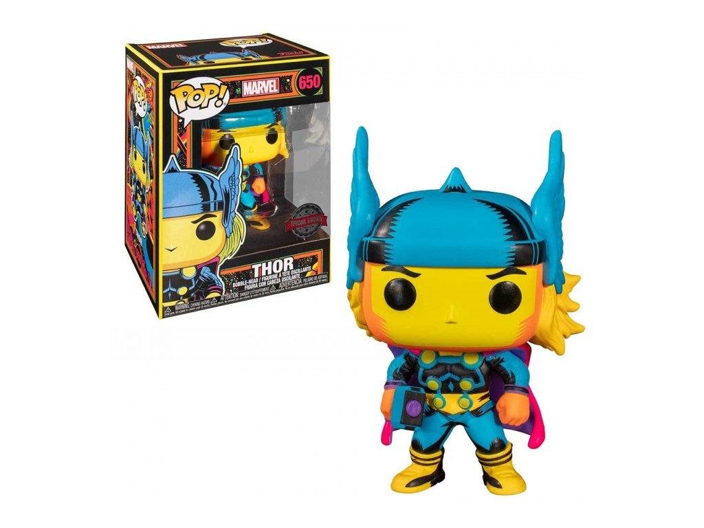 Marvel Black Light Thor (#650)