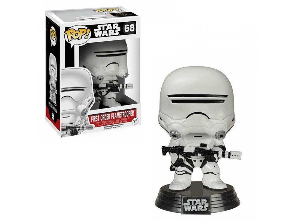 Funko POP! Star Wars First Order Flametrooper 68