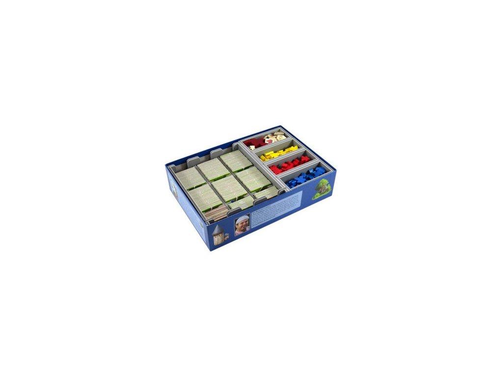 Insert na herní komponenty — Carcassonne
