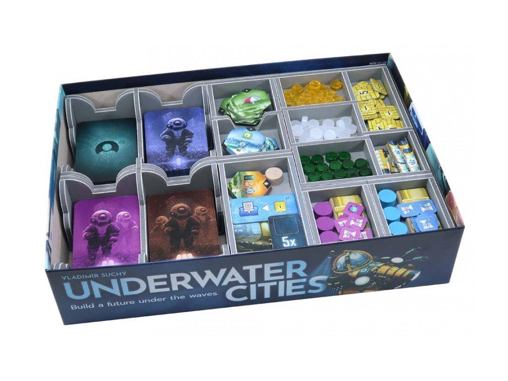Insert na herní komponenty — Underwater Cities/Podmořská města