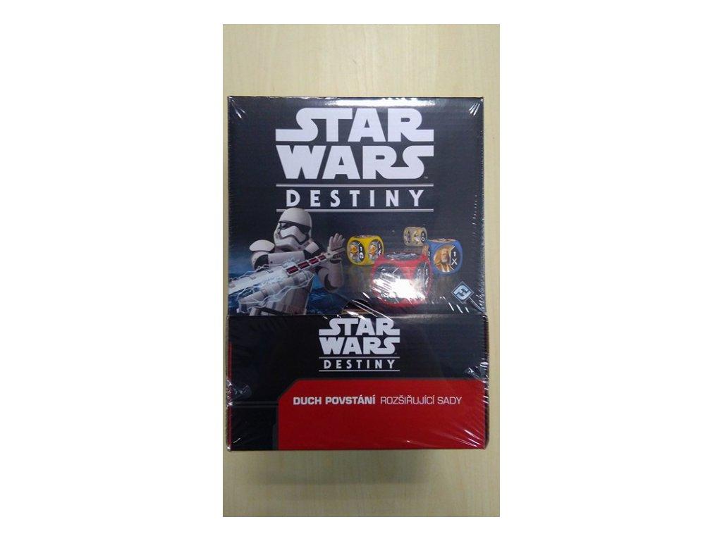 Star Wars Destiny: Duch povstání - Booster box - Česká verze