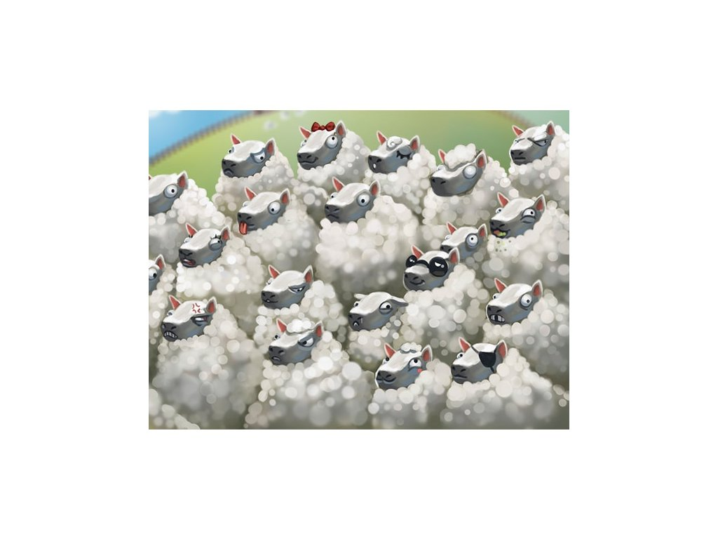 Hustá mela - rozšíření ovce