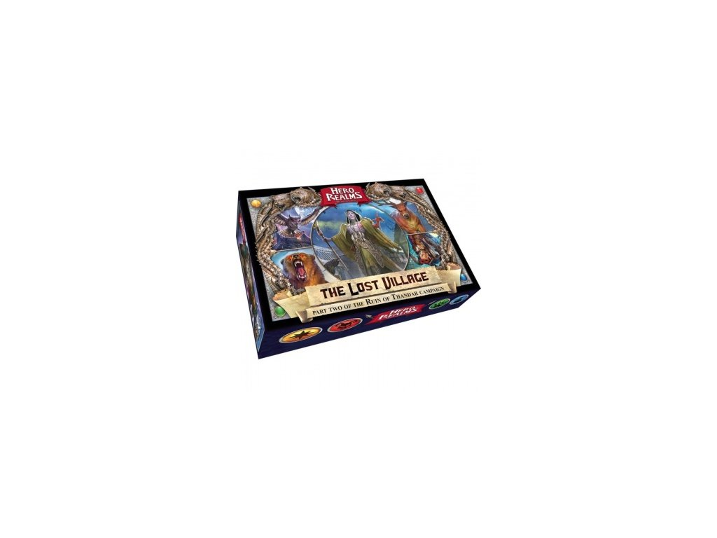 Hero Realms Campaign — The Lost Village Display