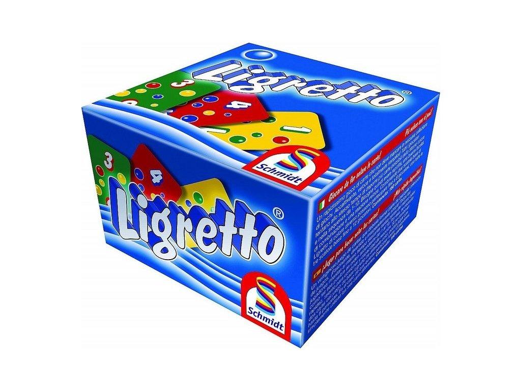 Ligretto - Modrá