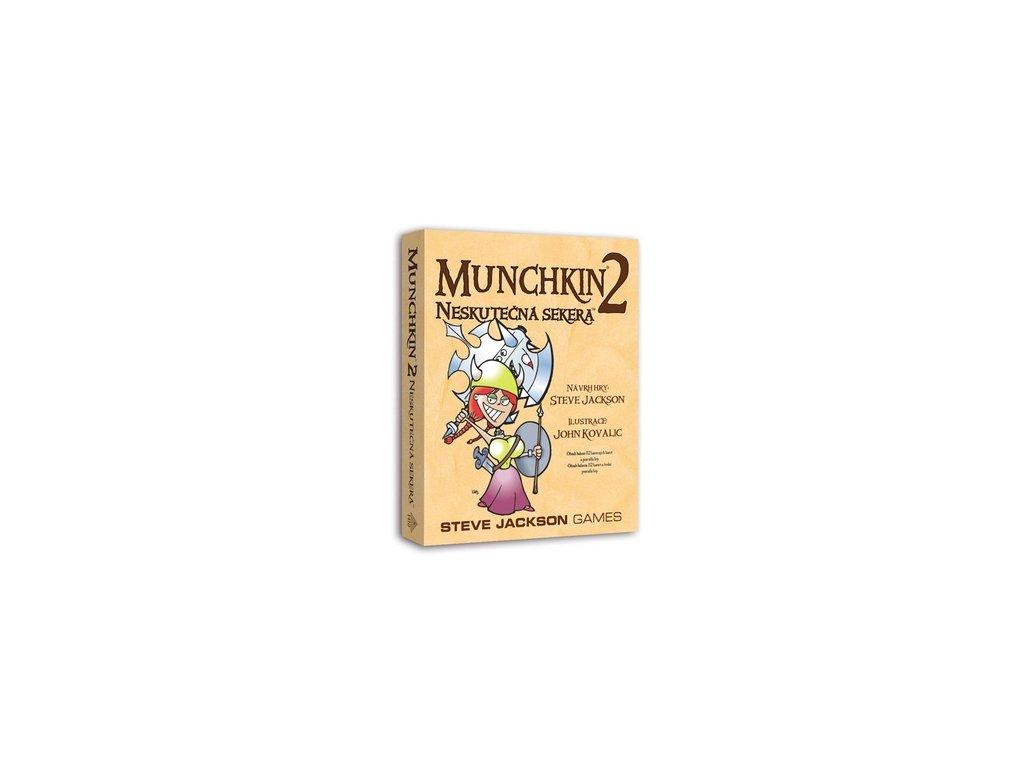 Munchkin 2 — Neskutečná sekera