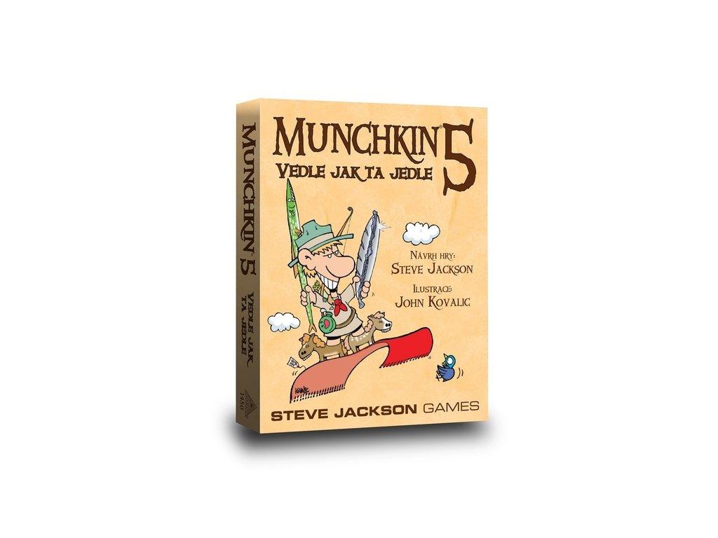 Munchkin 5 — Vedle jak ta jedle