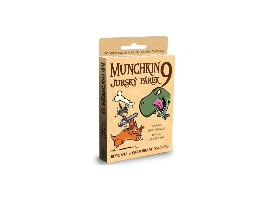 Munchkin 9 — Jurský párek