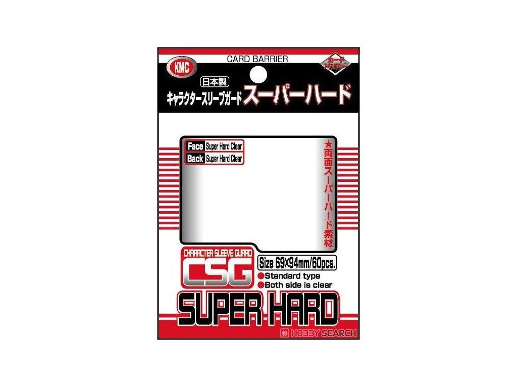 KMC obaly — Super Hard průhledné (60 kusů)