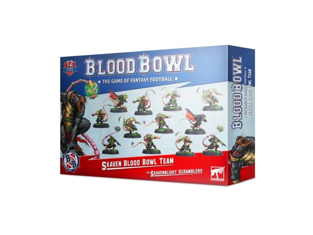 Blood Bowl team: The Skavenblight Scramblers
