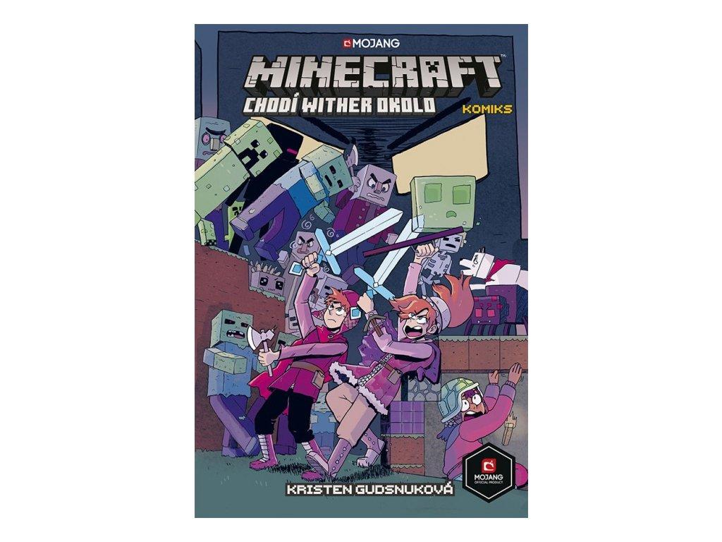 6935 minecraft komiks chodi wither okolo