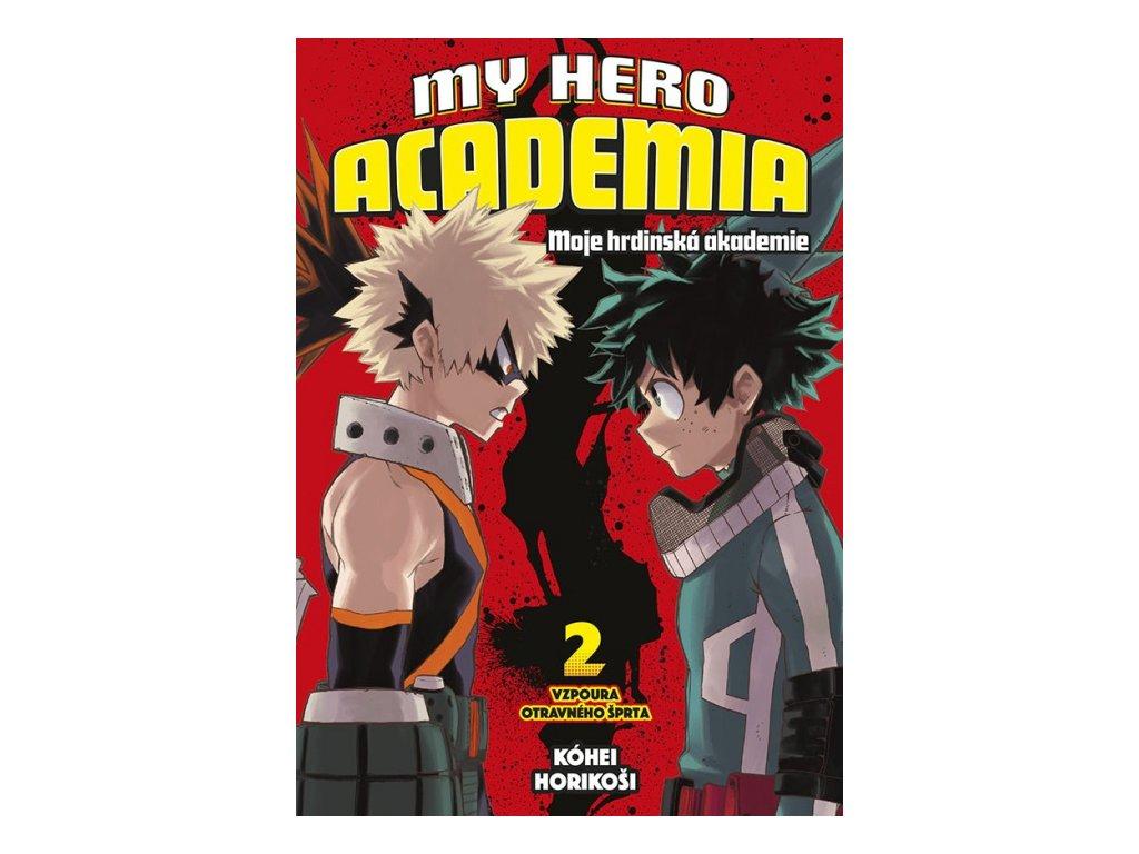 6953 my hero academia moje hrdinska akademie 2 vzpoura otravneho sprta