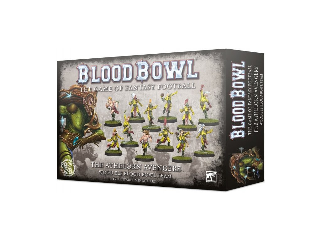 Blood Bowl team: The Athelorn Avengers