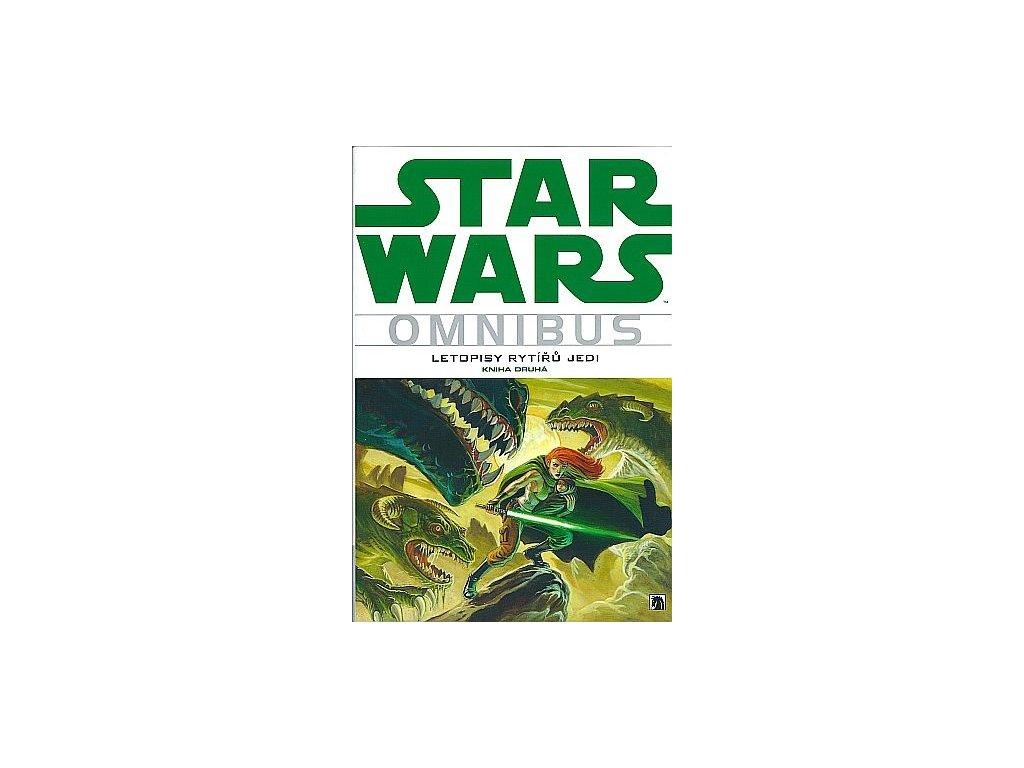 7148 star wars omnibus letopisy rytiru jedi kniha druha