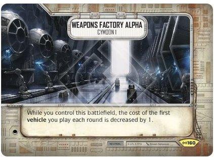 Weapons Factory Alpha- Cymoon 1 (Czech version)
