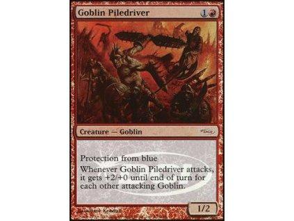 Goblin Piledriver - JUDGE FOIL (Foil ANO, Stav Near Mint)
