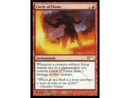 Circle of Flame - GATEWAY FOIL (Foil NE, Stav Near Mint)