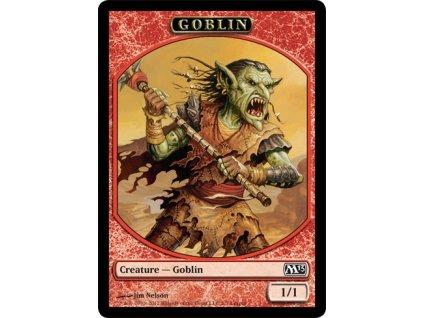 Goblin token LEAGUE PROMO (Foil NE, Stav Near Mint)