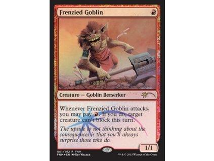 Frenzied Goblin - FNM FOIL (Foil NE, Stav Near Mint)
