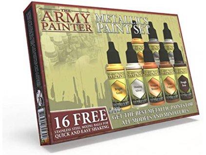 The Army Painter — Metallics Paint Set