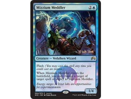 Mizzium Meddler - RELEASE FOIL (Foil NE, Stav Near Mint)