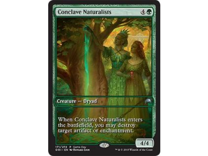 Conclave Naturalists - GAMEDAY PROMO (Foil NE, Stav Near Mint)