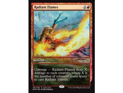 Radiant Flames - GAMEDAY FOIL (Foil NE, Stav Near Mint)