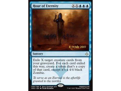 Hour of Eternity - PRERELEASE PROMO FOIL (Foil NE, Stav Light Played)