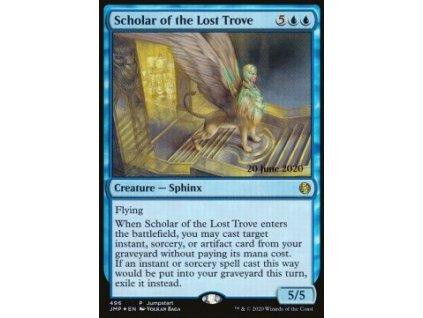 Scholar of the Lost Trove - RELEASE PROMO FOIL (Foil NE, Stav Near Mint)