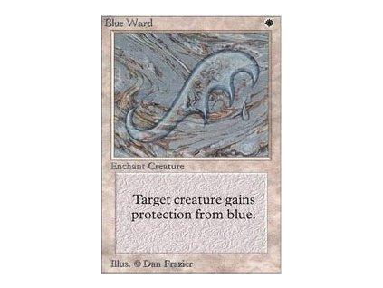 Blue Ward - SP (Foil NE, Stav Near Mint)