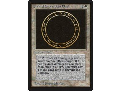 Circle of Protection: Black - SP (Foil NE, Stav Light Played)