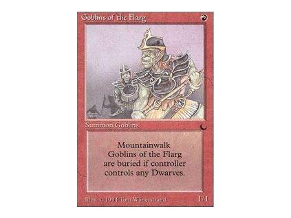 Goblins of the Flarg - NON ENG JAP SP (Foil NE, Stav Light Played)