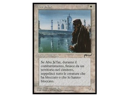Abu Ja'far - NON ENG ITA HP (Foil NE, Stav Played)