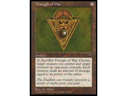 Triangle of War (Foil NE, Stav Played)
