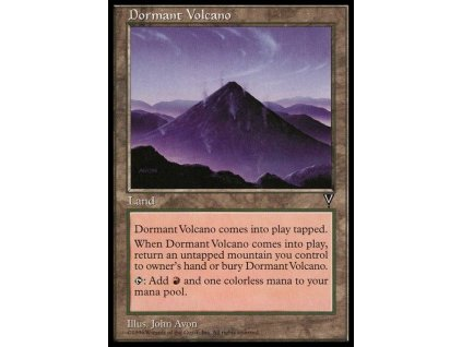 Dormant Volcano (Foil NE, Stav Near Mint)