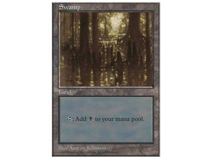 Swamp (Foil NE, Stav Near Mint)