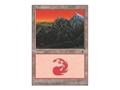 Mountain (Foil NE, Stav Near Mint)