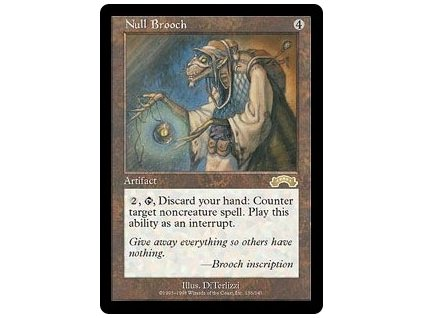 Null Brooch (Foil NE, Stav Light Played)