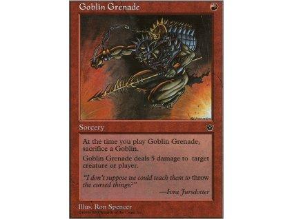 Goblin Grenade (Foil NE, Stav Near Mint)