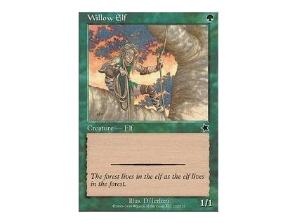 Willow Elf (Foil NE, Stav Near Mint)