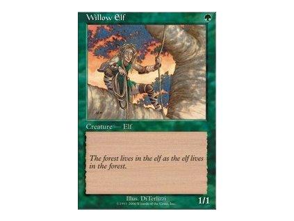 Willow Elf (Foil NE, Stav Near Mint)