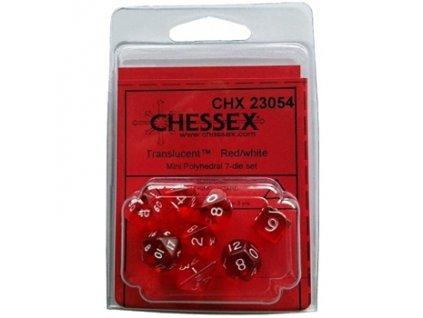 Chessex sada mini kostek (7 kostek)