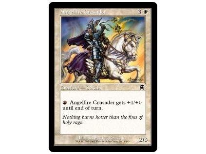 Angelfire Crusader (Foil NE, Stav Near Mint)