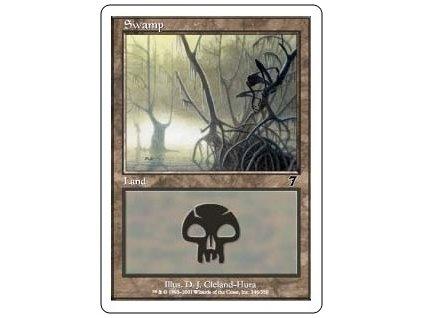 Swamp (Foil ANO, Stav Light Played)