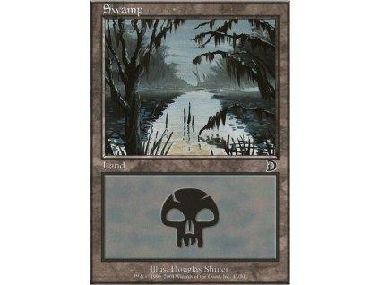 Swamp - HP (Foil NE, Stav Played)