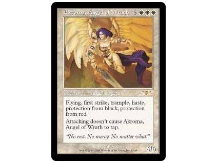Akroma, Angel of Wrath (Foil NE, Stav Near Mint)