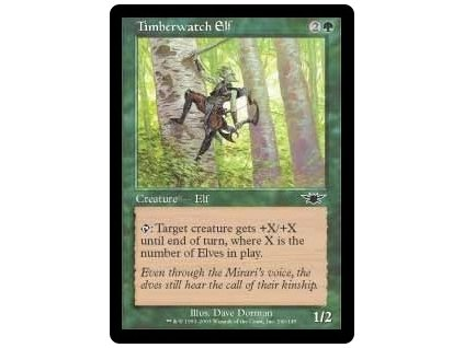Timberwatch Elf (Foil NE, Stav Light Played)